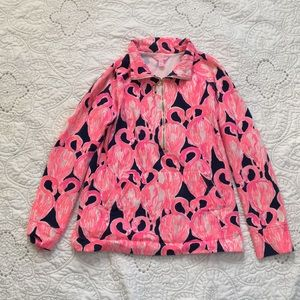 Lilly Pulitzer Flamingo Popover